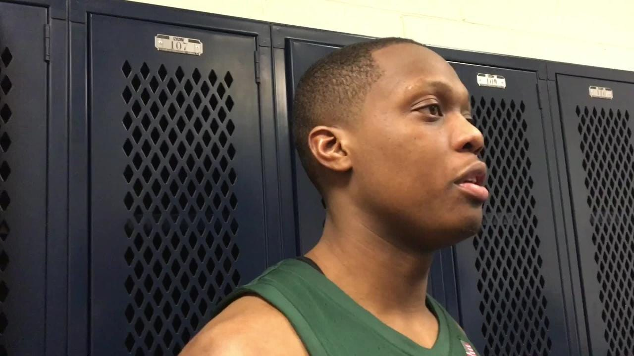 No. 6 Michigan State earned its 10th straight win Sunday, Jan. 13, 2019 with a 71-56 win at Penn State. Players discuss the victory.