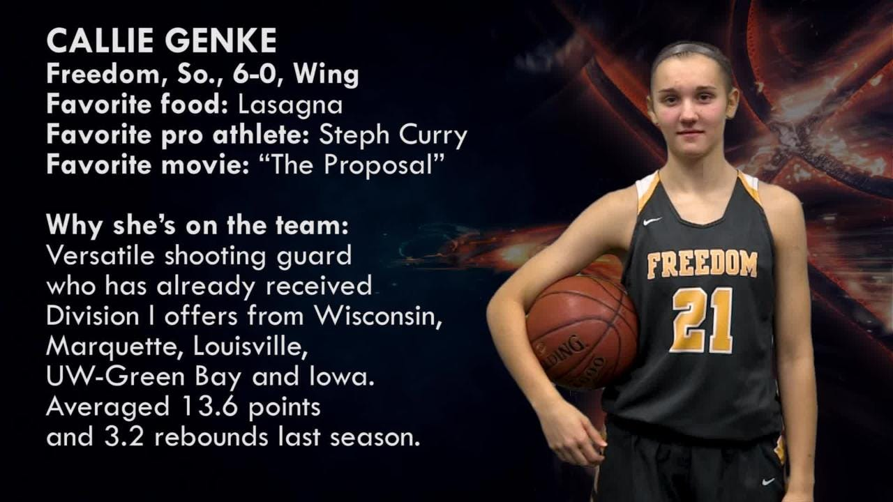 Meet Callie Genke, wing, Freedom Irish