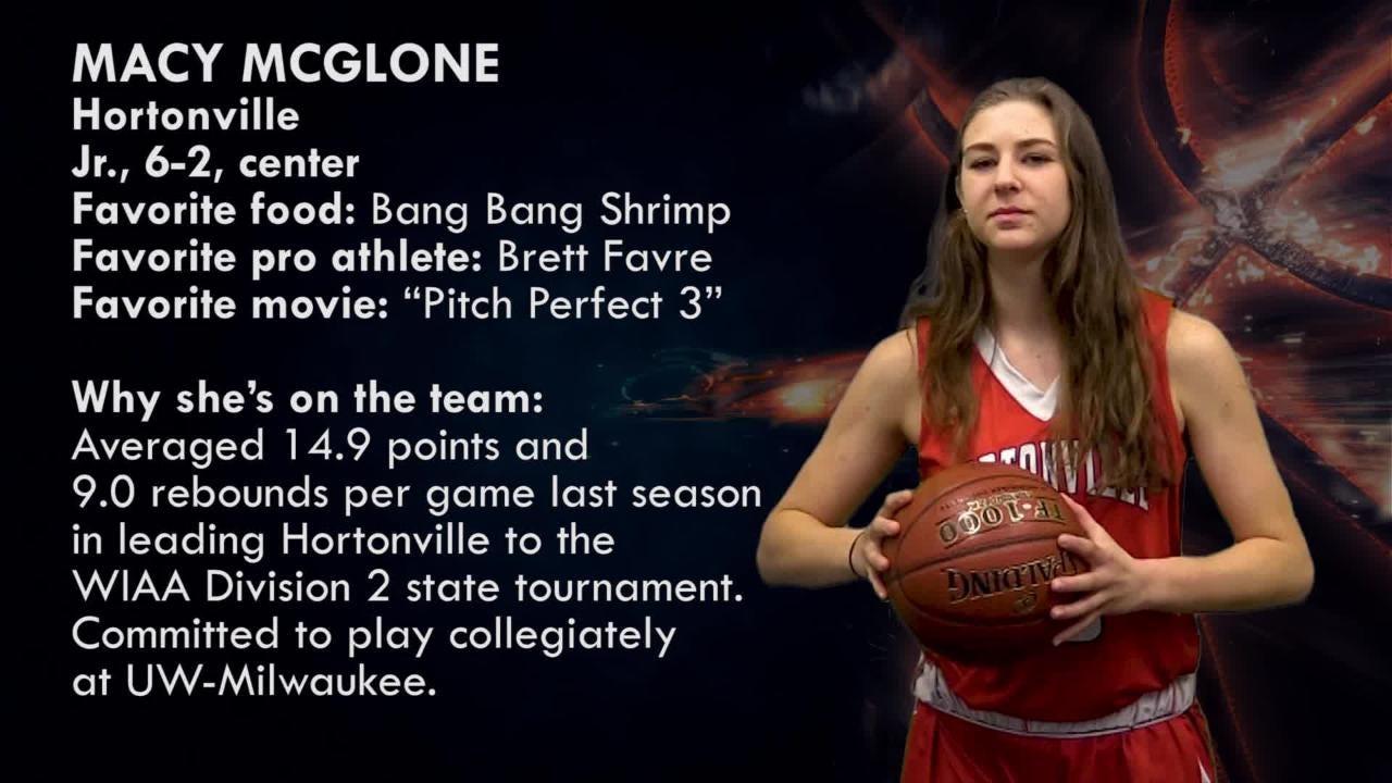 Fabulous 5 girls basketball: Macy McGlone | Hortonville Polar Bears
