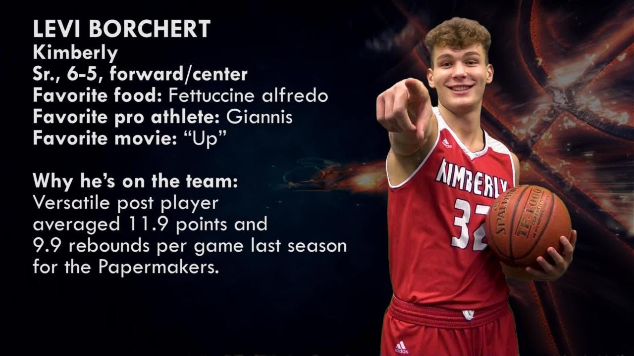 Meet Levi Borchert, forward/center, Kimberly Papermakers