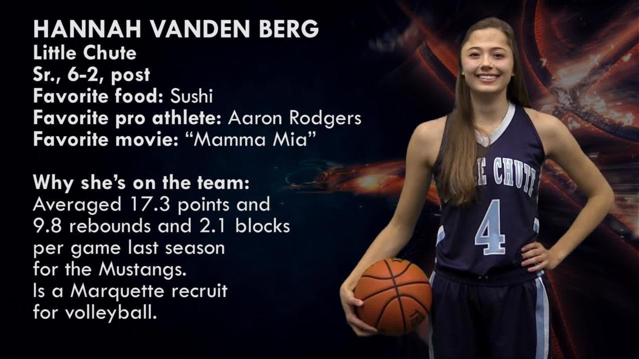 Fabulous 5 girls basketball: Hannah Vanden Berg | Little Chute Mustangs
