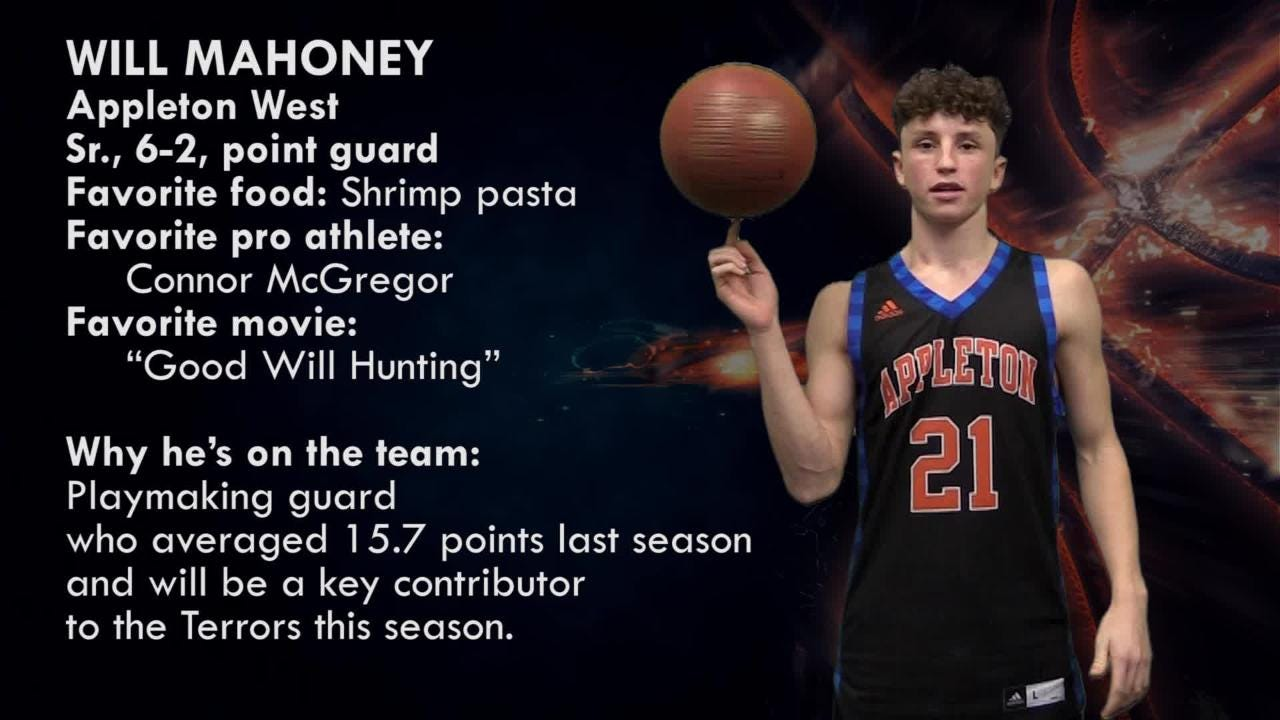 Meet Will Mahoney, point guard, Appleton West Terrors