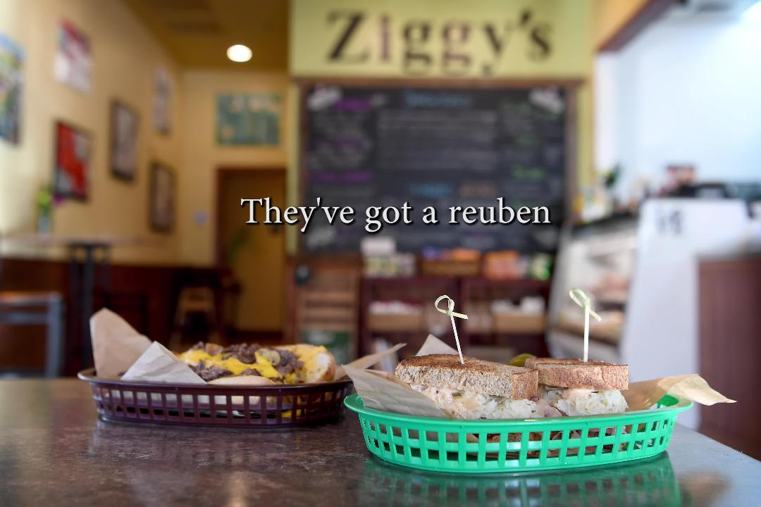 Dig into a sandwich at Ziggy's Bakery & Deli