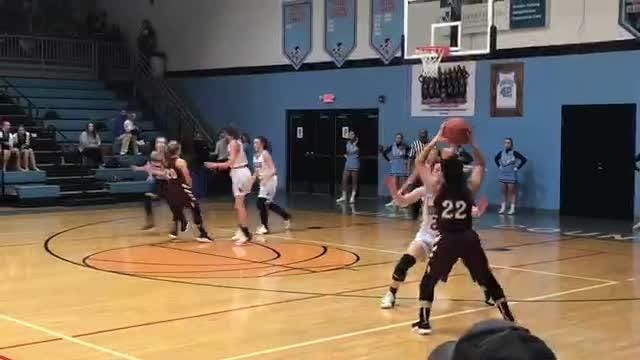 Emilee Hope scored 26 points as Henderson County defeated Union County 68-35 in Sixth District action on Monday.