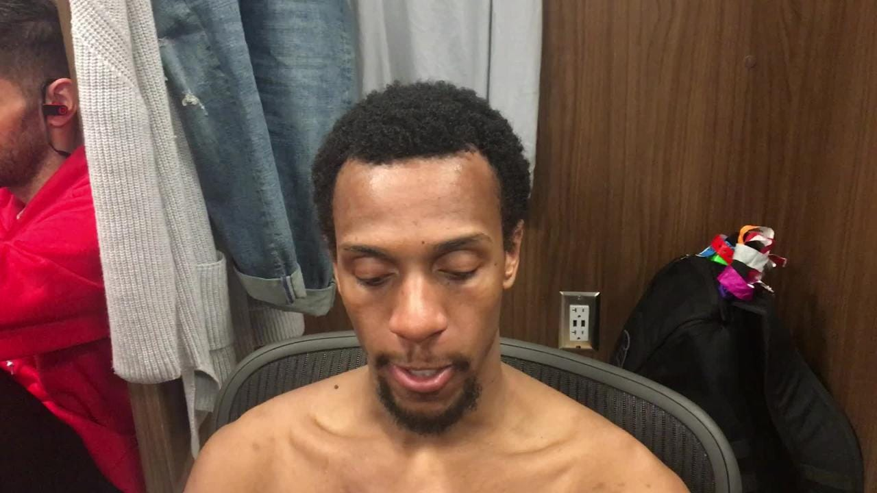 Detroit Pistons point guard Ish Smith says he was able to move freely after missing 18 games with a right adductor tear.