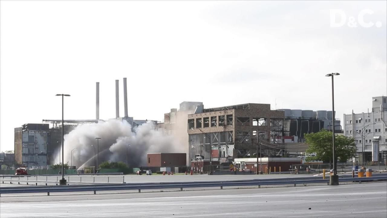Kodak Building 53 was imploded July 18, 2015.