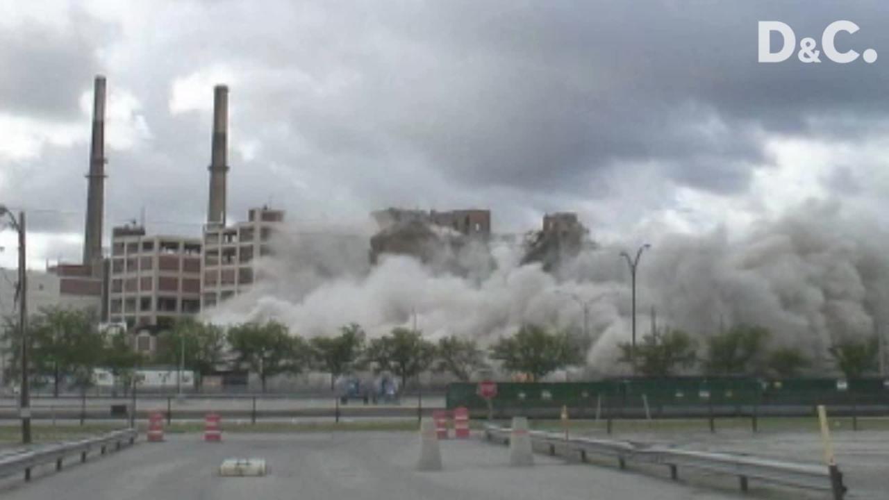 Building 23 in Kodak Park was demolished on July 3, 2007.