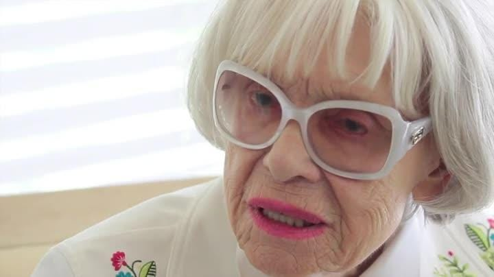 Tony Award winner Carol Channing talks about her passion for arts education during an interview with The Desert Sun's Bruce Fessier on September 4, 2013.