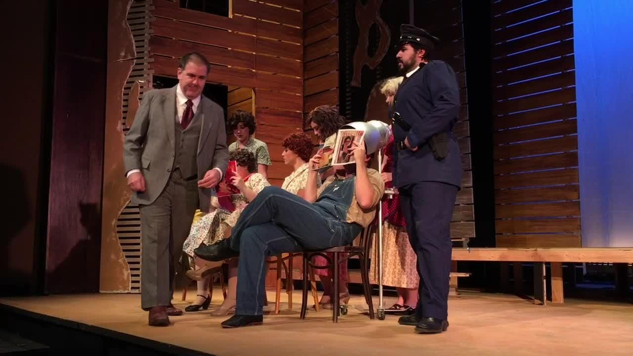 The Henegar Center in Melbourne presents a musical depicting the lives of the notorious 1930s outlaw duo. It contains violence and some language.