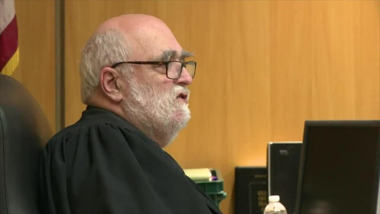 Rochester City Court Judge Thomas Rainbow Morse talks about his decision not to dismiss the case against suspended police Officer, Michael Sippel.