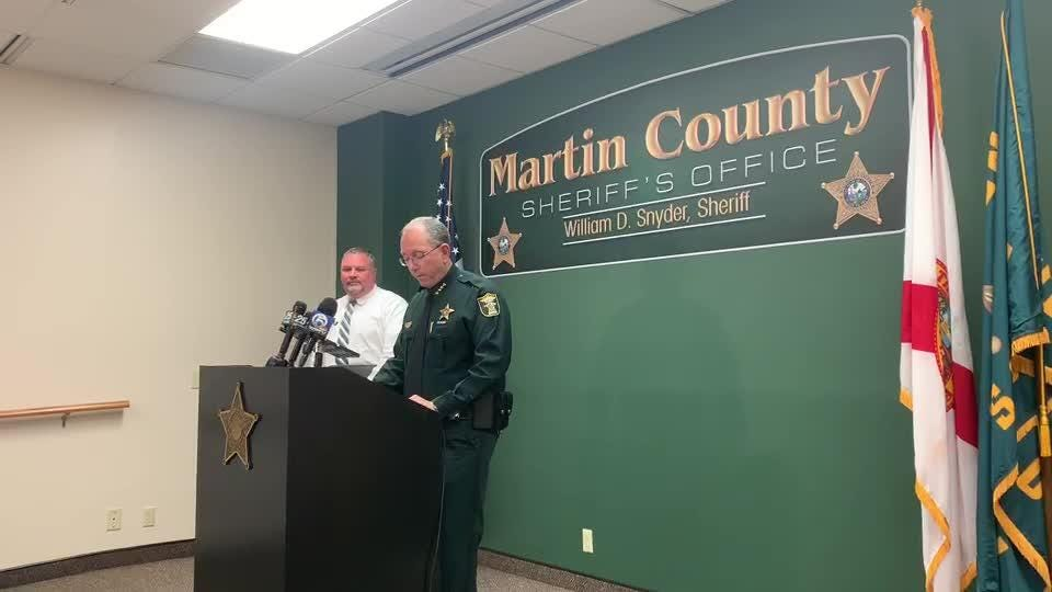 Martin County sheriff discusses deputy fired after false narcotics arrests