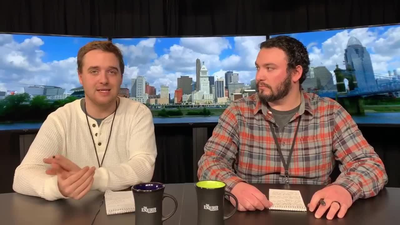 The Enquirer preps writers Shelby Dermer and Jon Richardson discuss the AP boys basketball second statewide poll and how they voted.