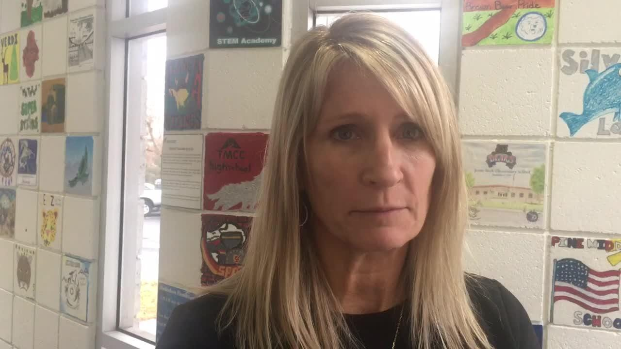 Trina Olsen, who was wrongly fired from Hug High, according to arbitration, started as an administrator at Wooster this week. She said the school board needs to do its job after district officials broke th law.