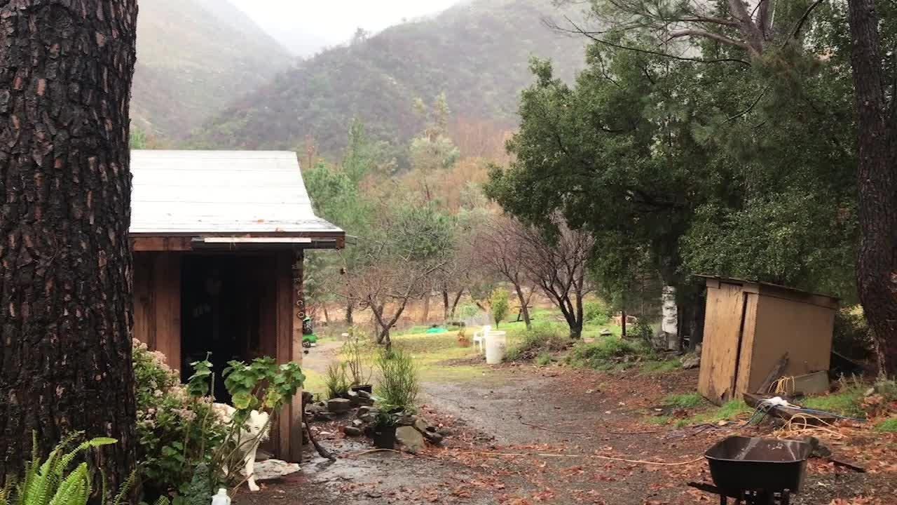 Here's a look at how Matilija Canyon and La Conchita residents dealt with a storm on Jan. 15, 2019.