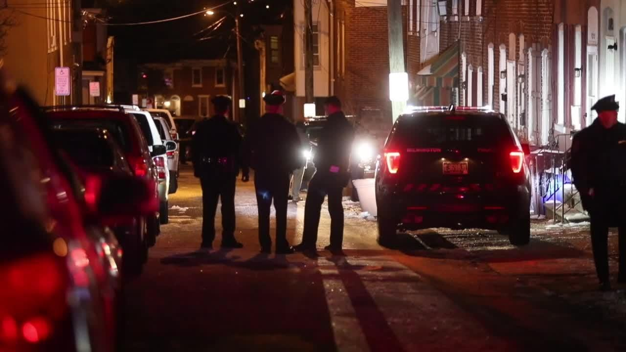 RAW VIDEO: Wilmington Police at Hilltop shooting