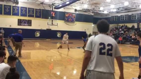 Watch M-E soph Jack McFadden's difference-making finish with 14 seconds remaining.
