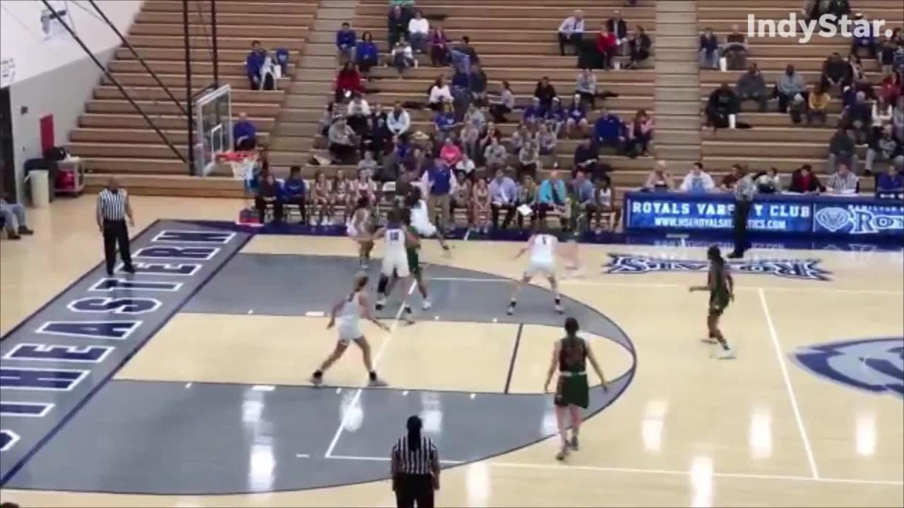 Hamilton Southeastern defeats Lawrence North in girls basketball action on Jan. 15, 2019