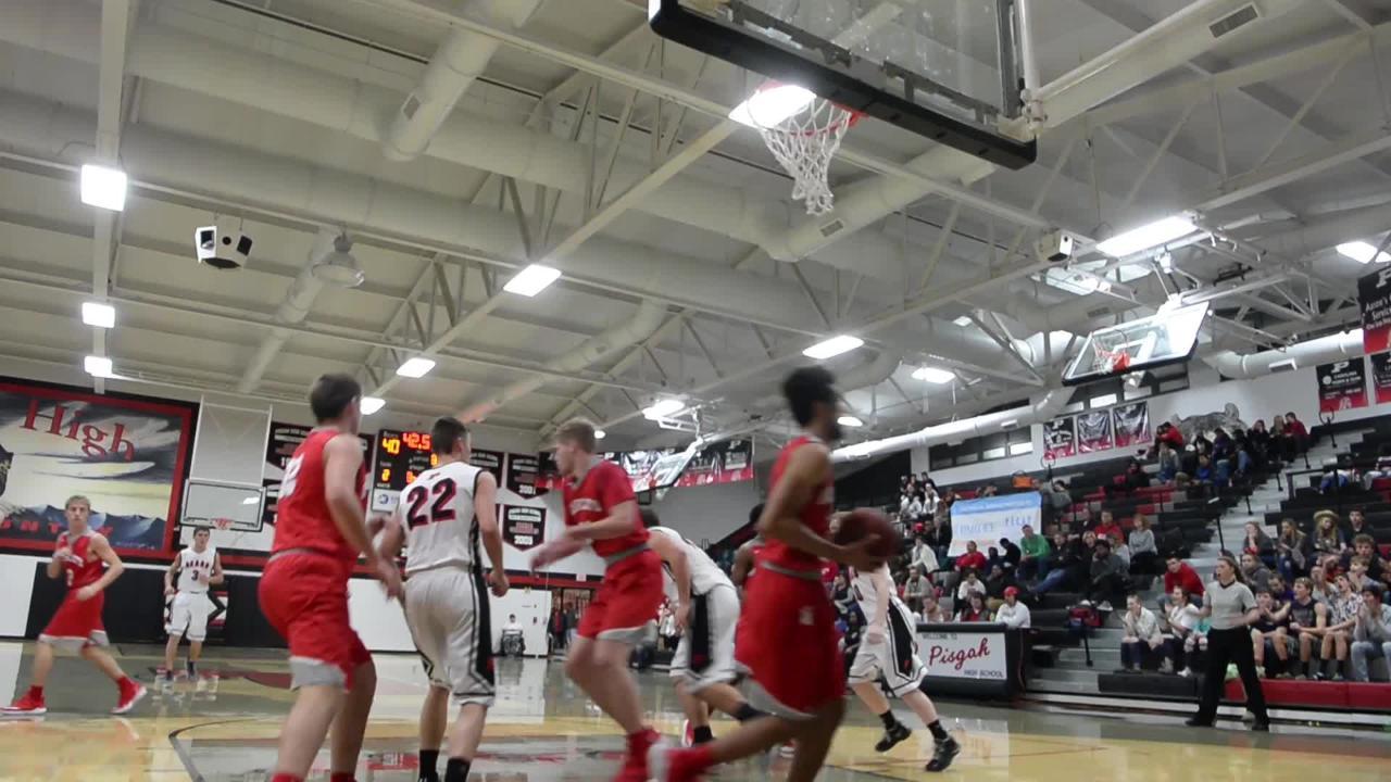 Pisgah hosted Hendersonville in boys basketball on Jan. 15, 2019.