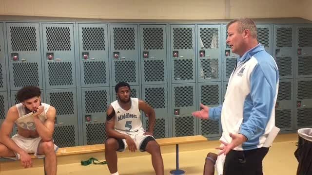 MCC basketball coach Dave Turco
