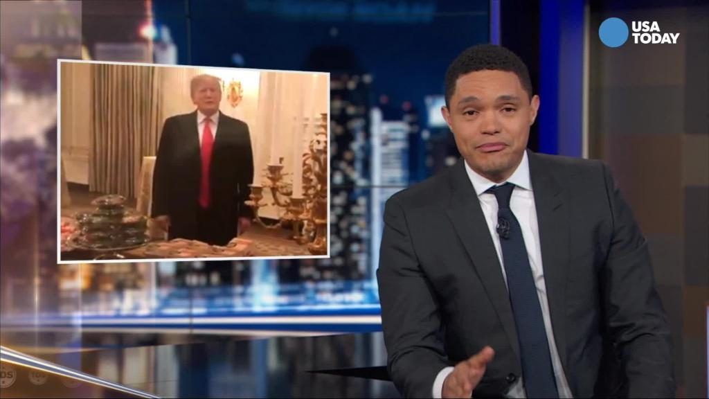Noah analyzes Trump's high-low Clemson moment in Best of Late Night