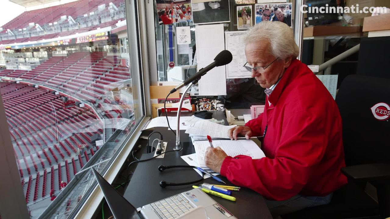 A look back at Marty Brennaman through the years.