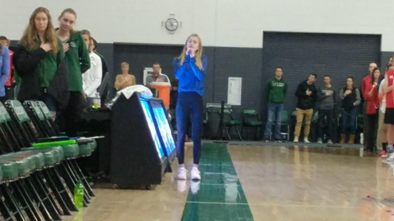 Germantown's Elise Dahlby will sing the national anthem at the Jan. 25 Milwaukee Bucks game.