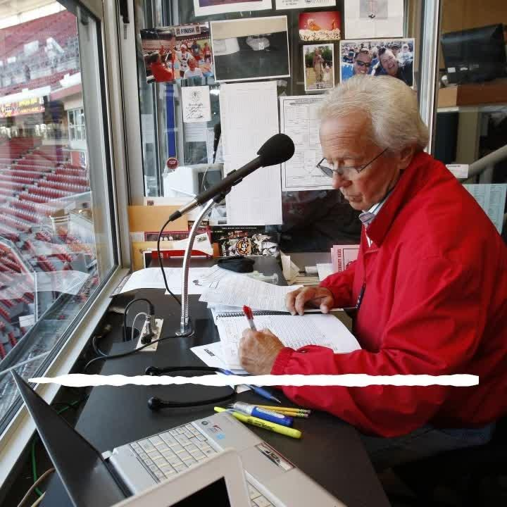 Marty Brennaman, Hall of Fame broadcaster and voice of the Reds for 46 years, announces his retirement. Audio courtesy of 700 WLW Radio.