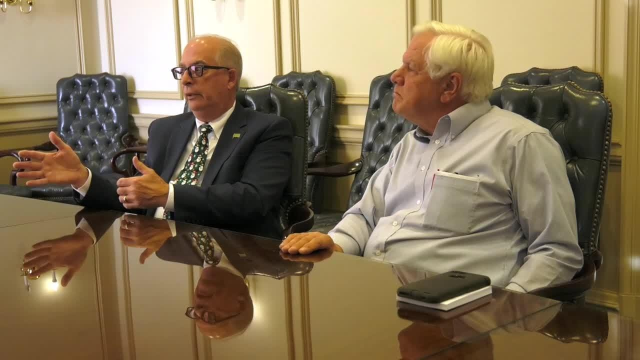 Delaware legislative leaders split on the need and safety of early voting.