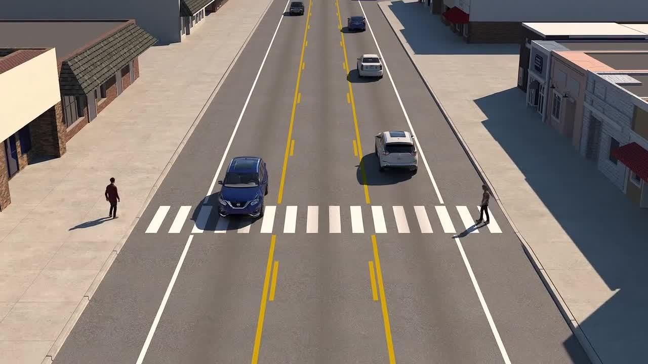 Iowa Department of Transportation explains 4-to-3 lane road conversion.
