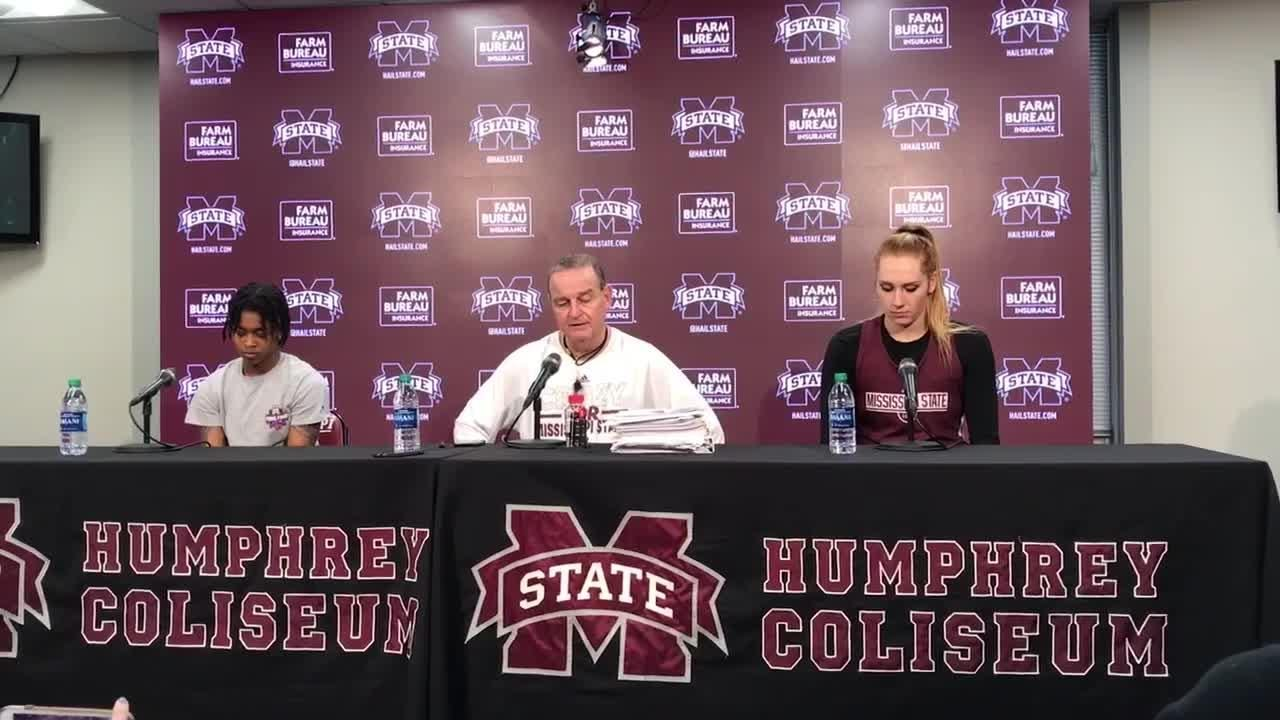 Mississippi State head coach Vic Schaefer previews State's game against South Carolina.
