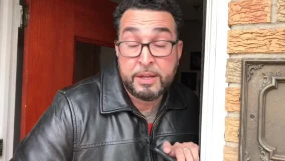 Patrick Montella's neighbor, Robert Lougo, reacts to the news about Monella's death.