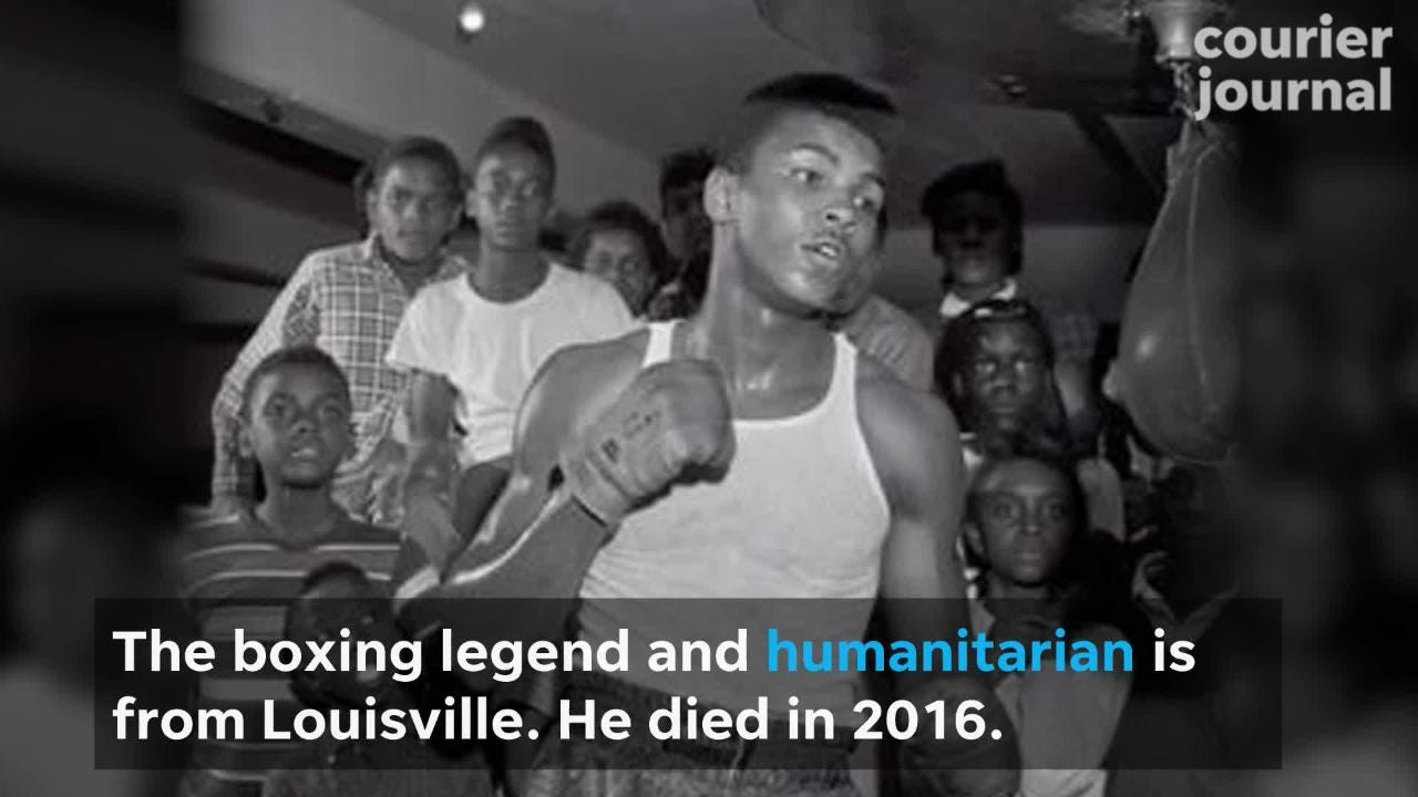 Louisville International Airport will be renamed after the city's legendary boxer, Muhammad Ali.