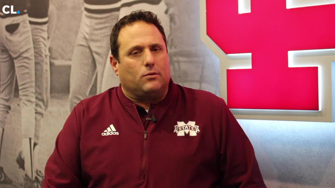 """Mackenzie Salmon talks with MSU baseball's new head coach to talk about the """"New Dude"""", the transition from Big Ten to SEC, and more."""