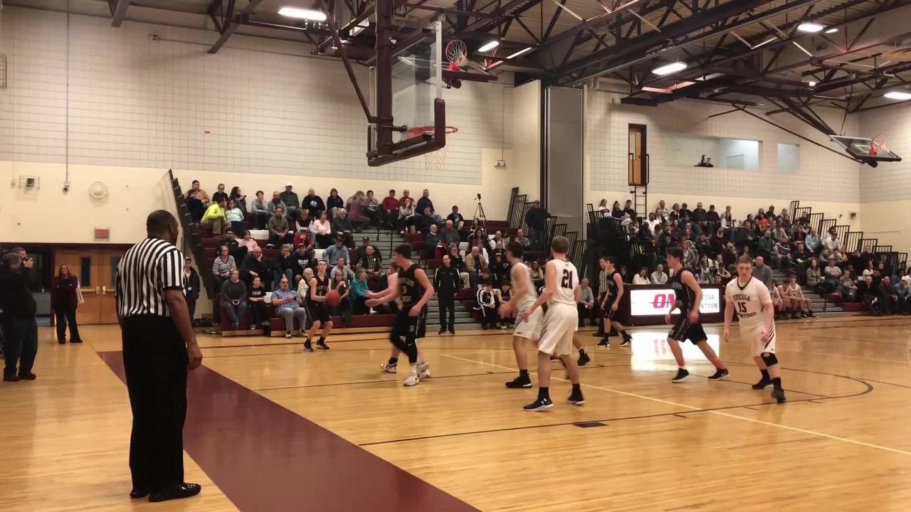 Watkins Glen extended its winning streak to five games with a 52-38 victory over Odessa-Montour on Jan. 16, 2019 at Odessa-Montour High School.