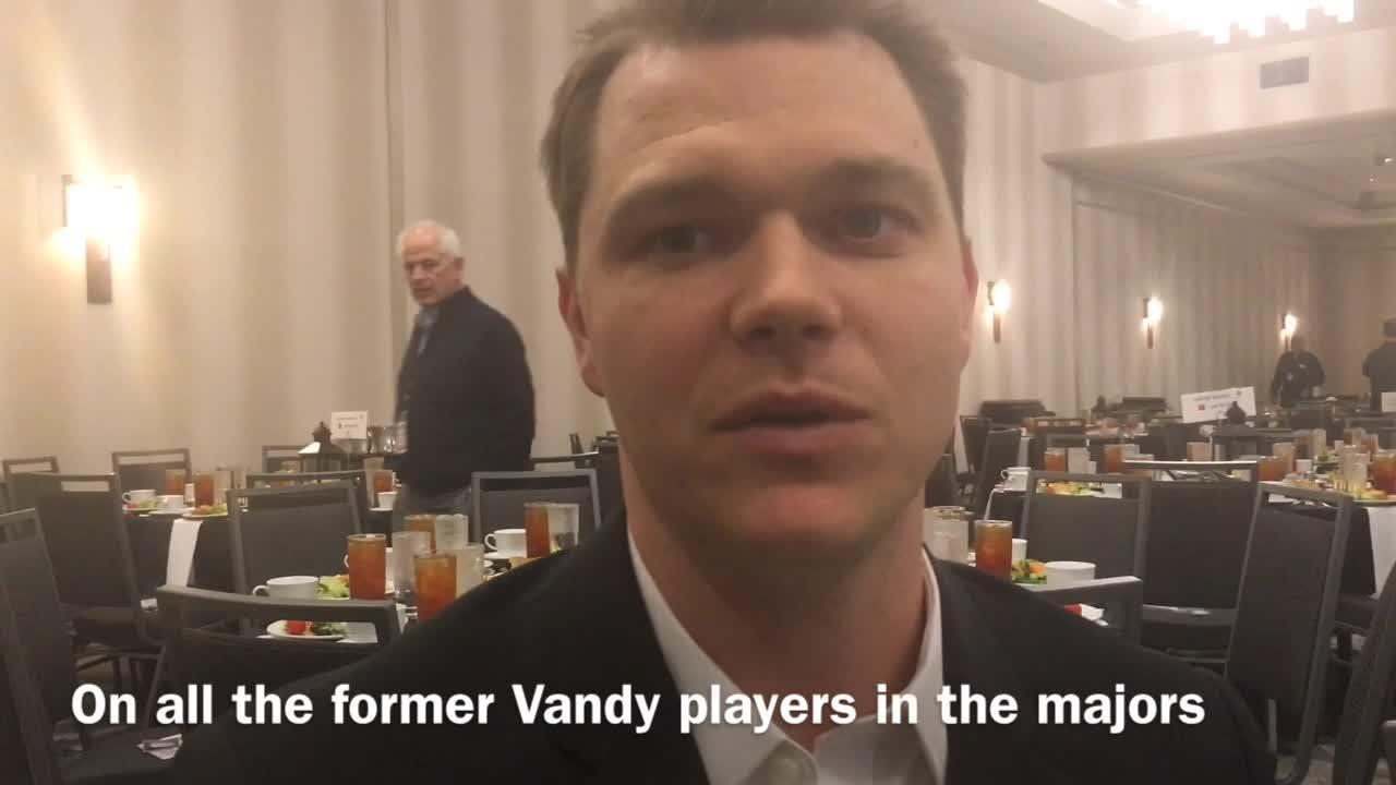 Gray does a lot of his off-season training at Vanderbilt