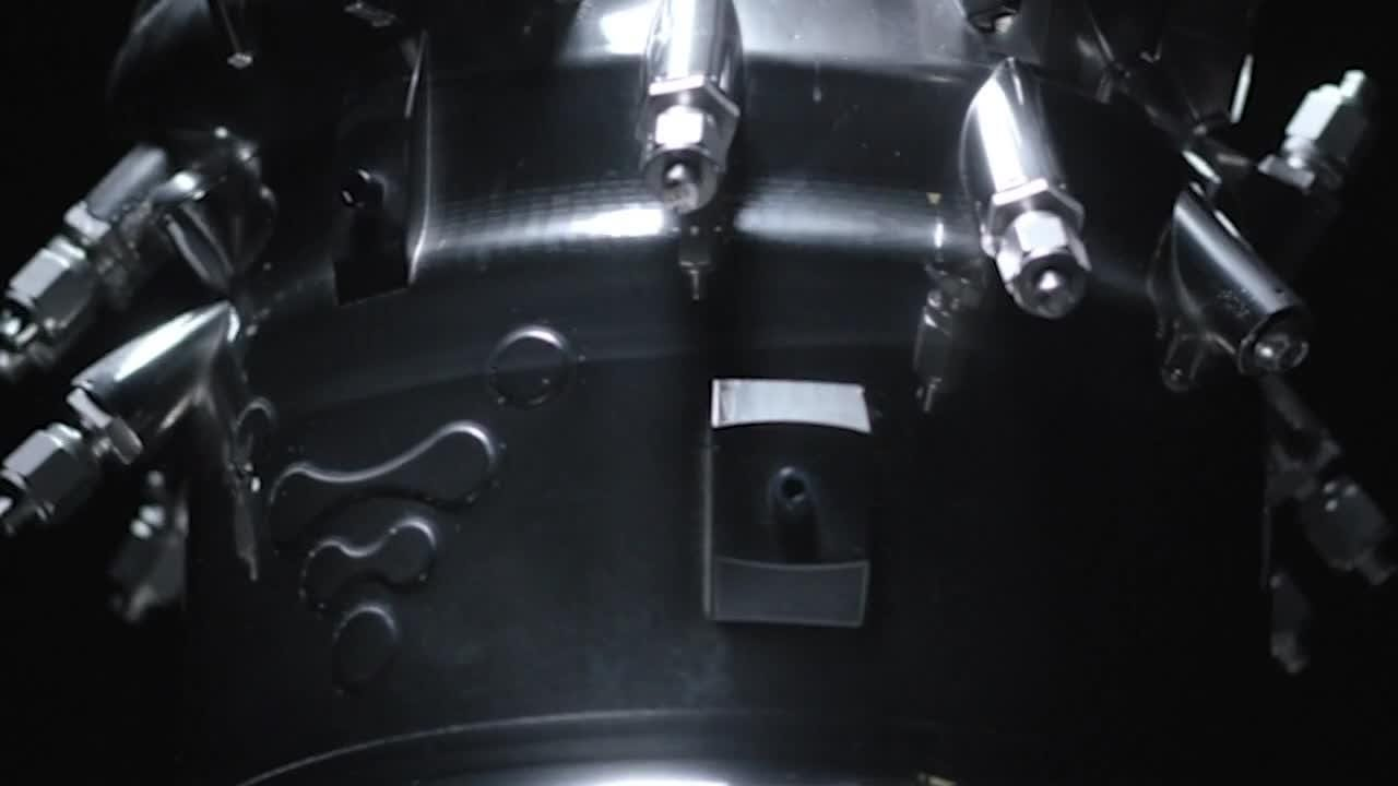 See how Relativity Space, launching from Cape Canaveral soon, 3D prints its rocket engines.