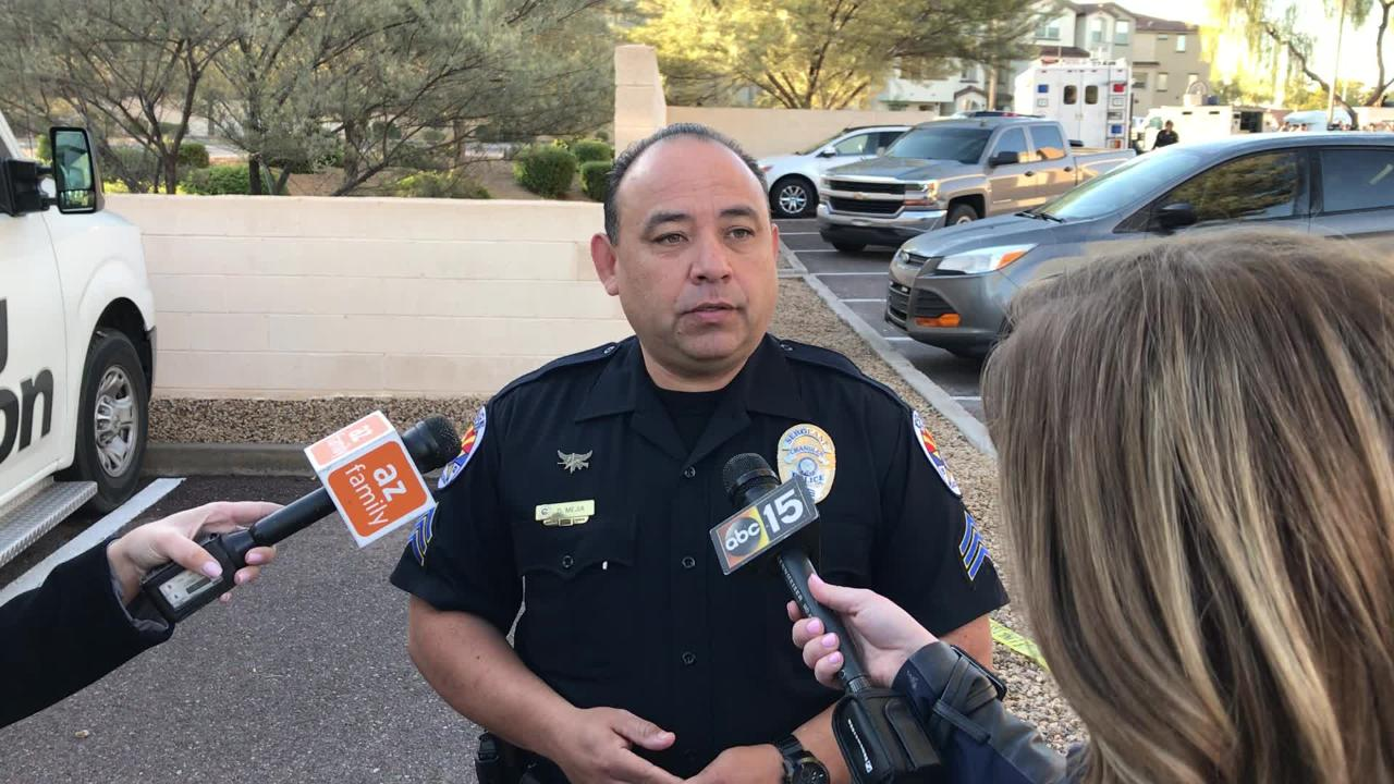 Chandler police Sgt. Daniel Mejia talks about the events of the police-involved shooting on Jan. 17.