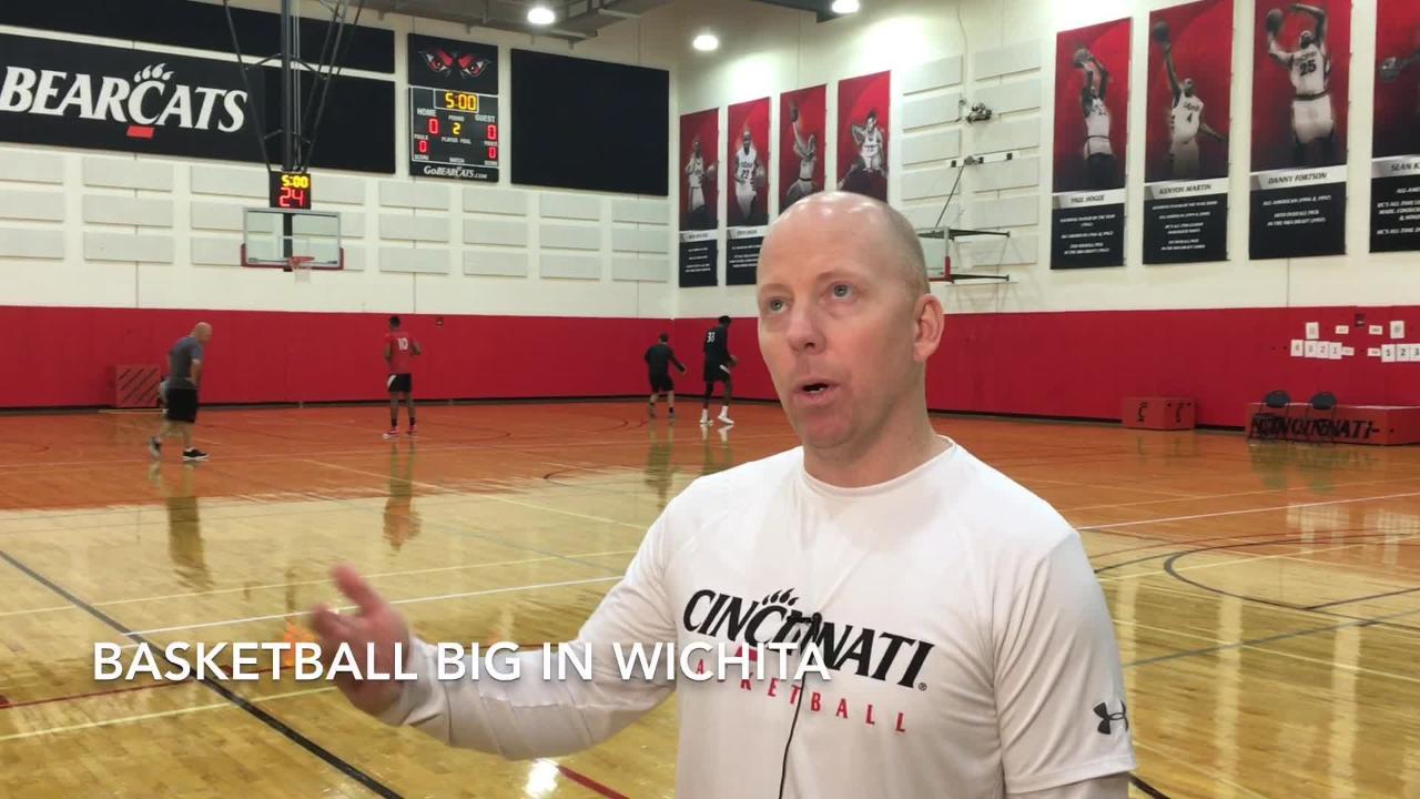 UC's Mick Cronin, Keith Williams talk Wichita State