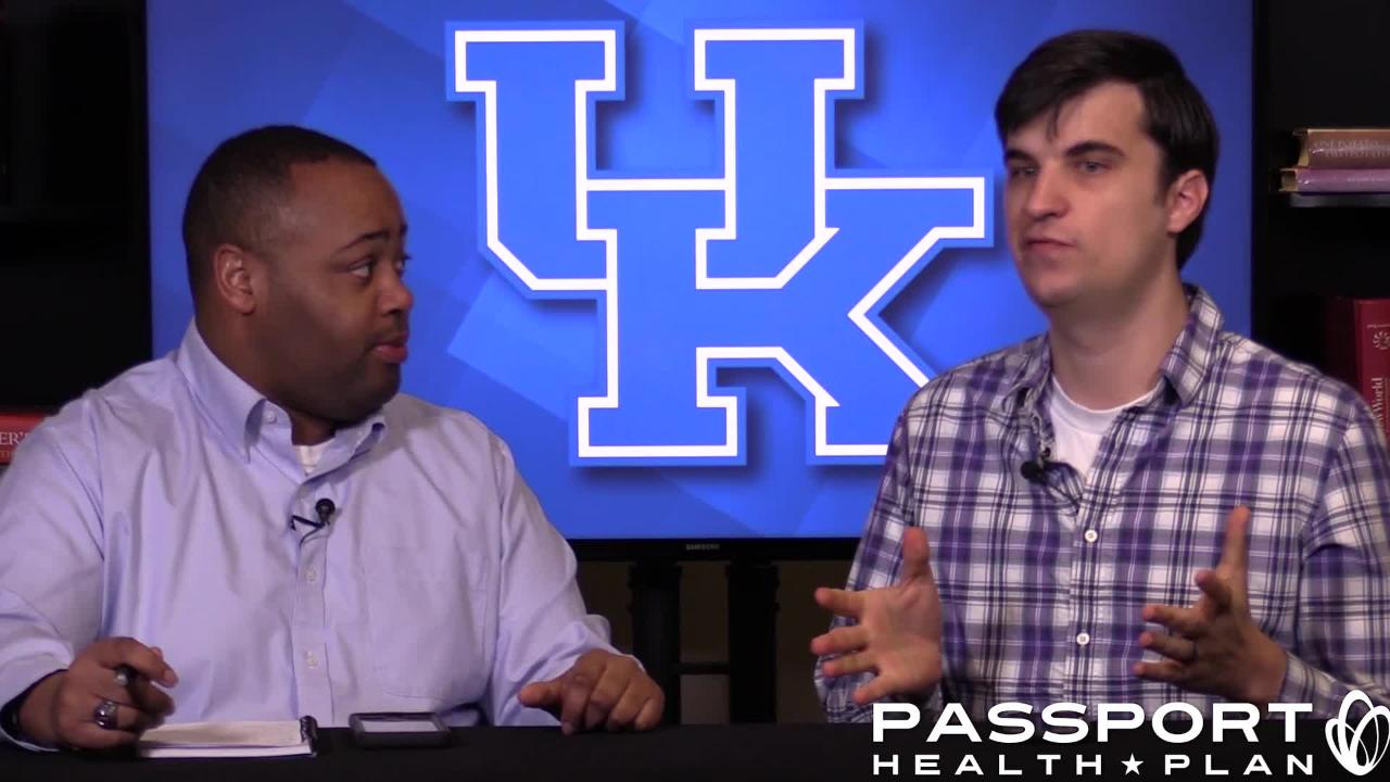 Kentucky is preparing for three-straight games against ranked opponents. Dominique Yates and Jon Hale talk about it.