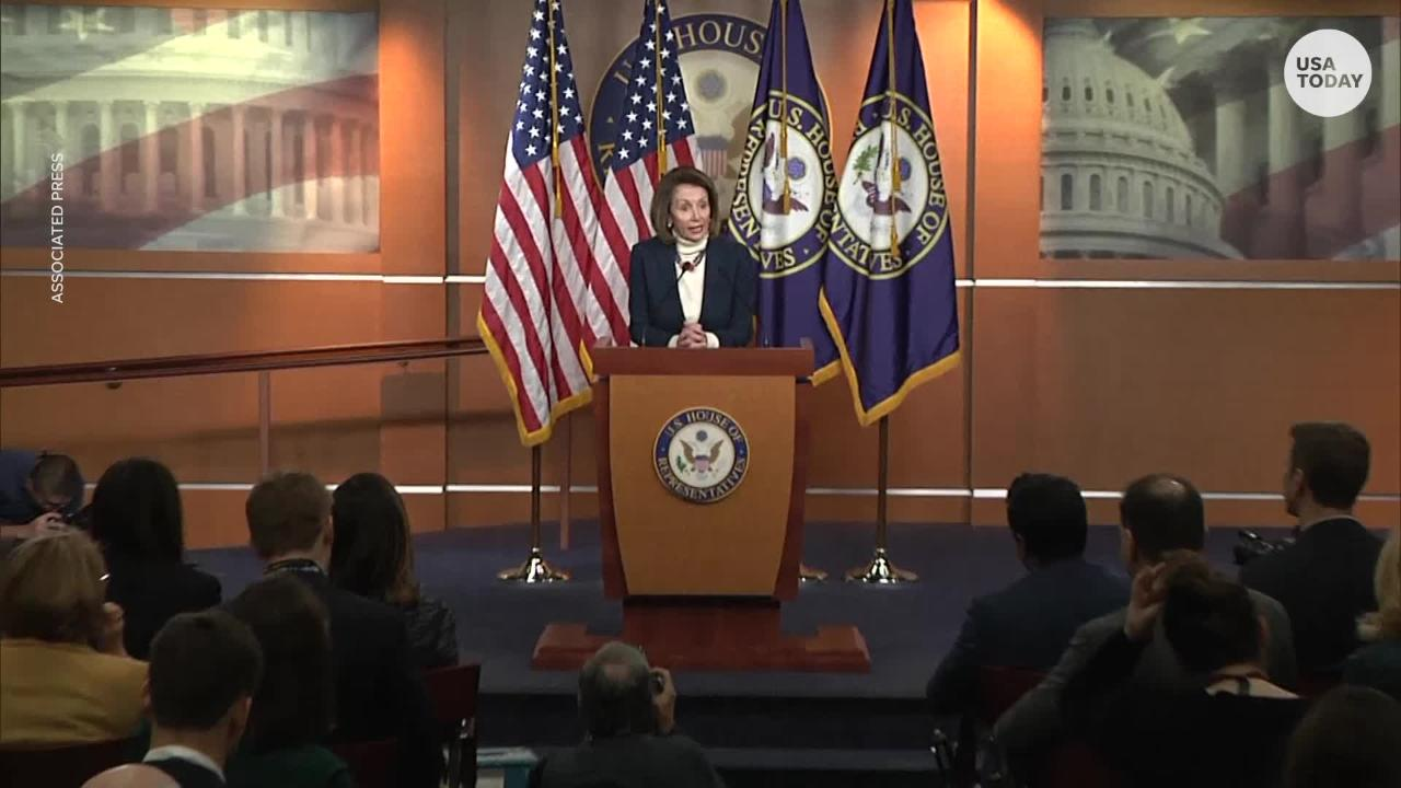 President Trump fired a new shot in the war over ownership of the government shutdown.  Trump canceled a military flight Pelosi had booked.