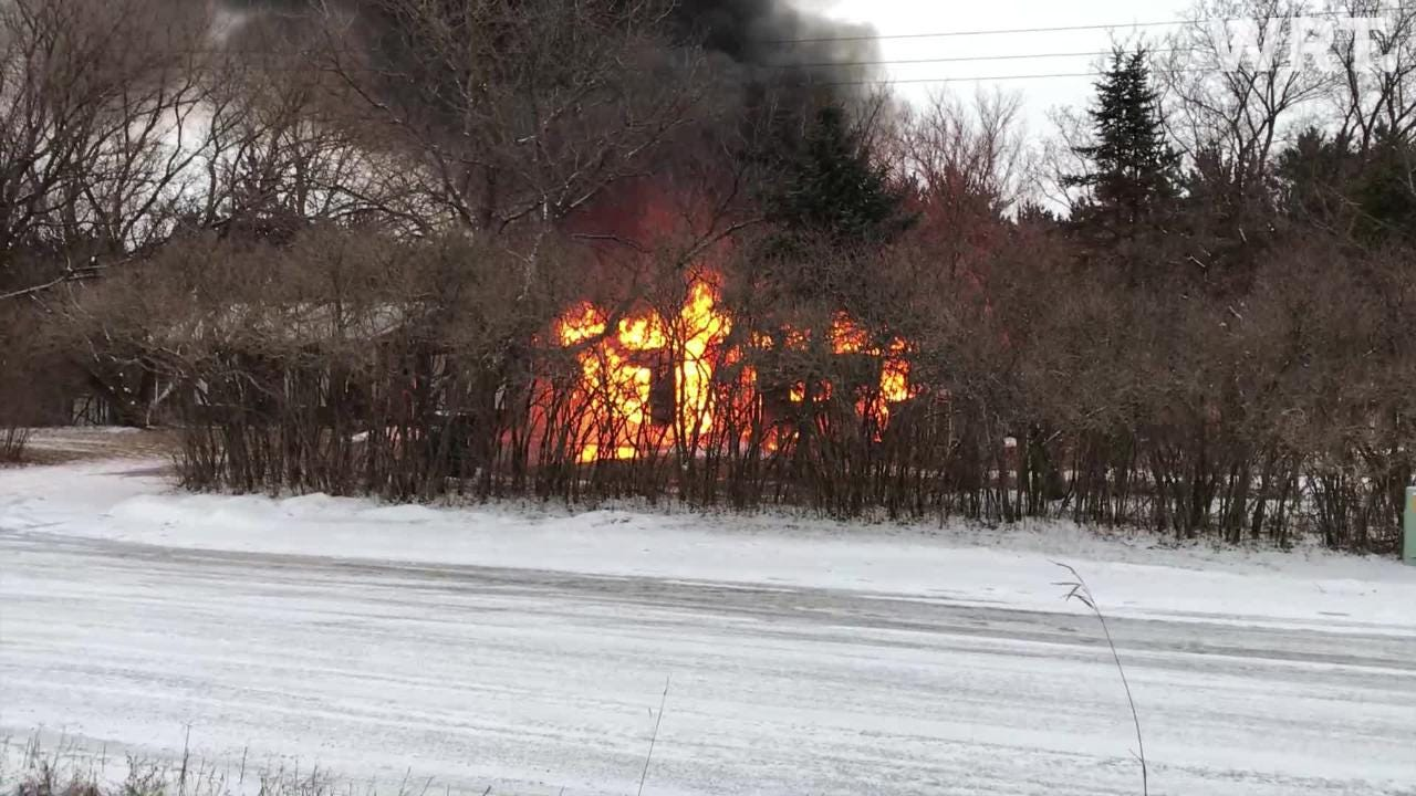 At about 4:30 p.m. Thursday, the Plover Fire Department responded to a structure fire near the intersection of Meehan Road and Portage county F, near State 54 in the Portage County town of Plover