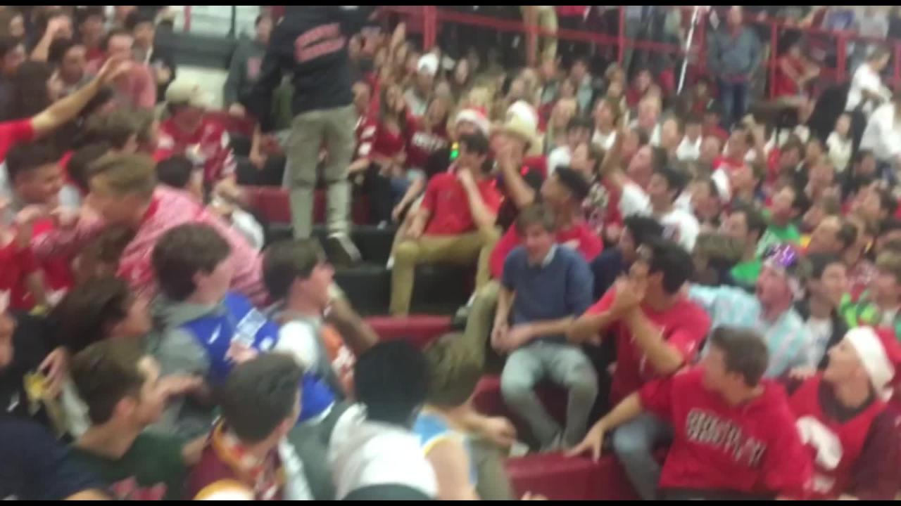 Get a closer look at the student section at Brophy Prep, dubbed the 6th Man. @BrophyHoops