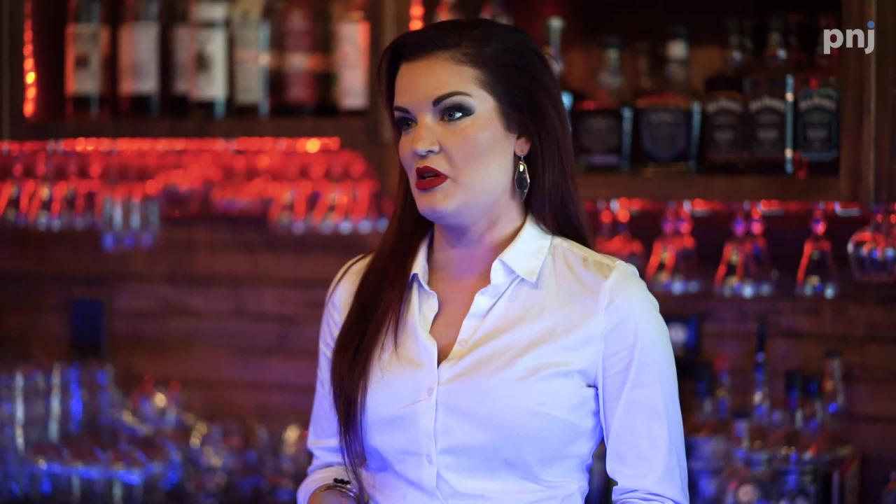 Old Hickory Whiskey Bar owner Katie Garrett says she fell in love with the whiskey industry after first falling in love with whiskey.