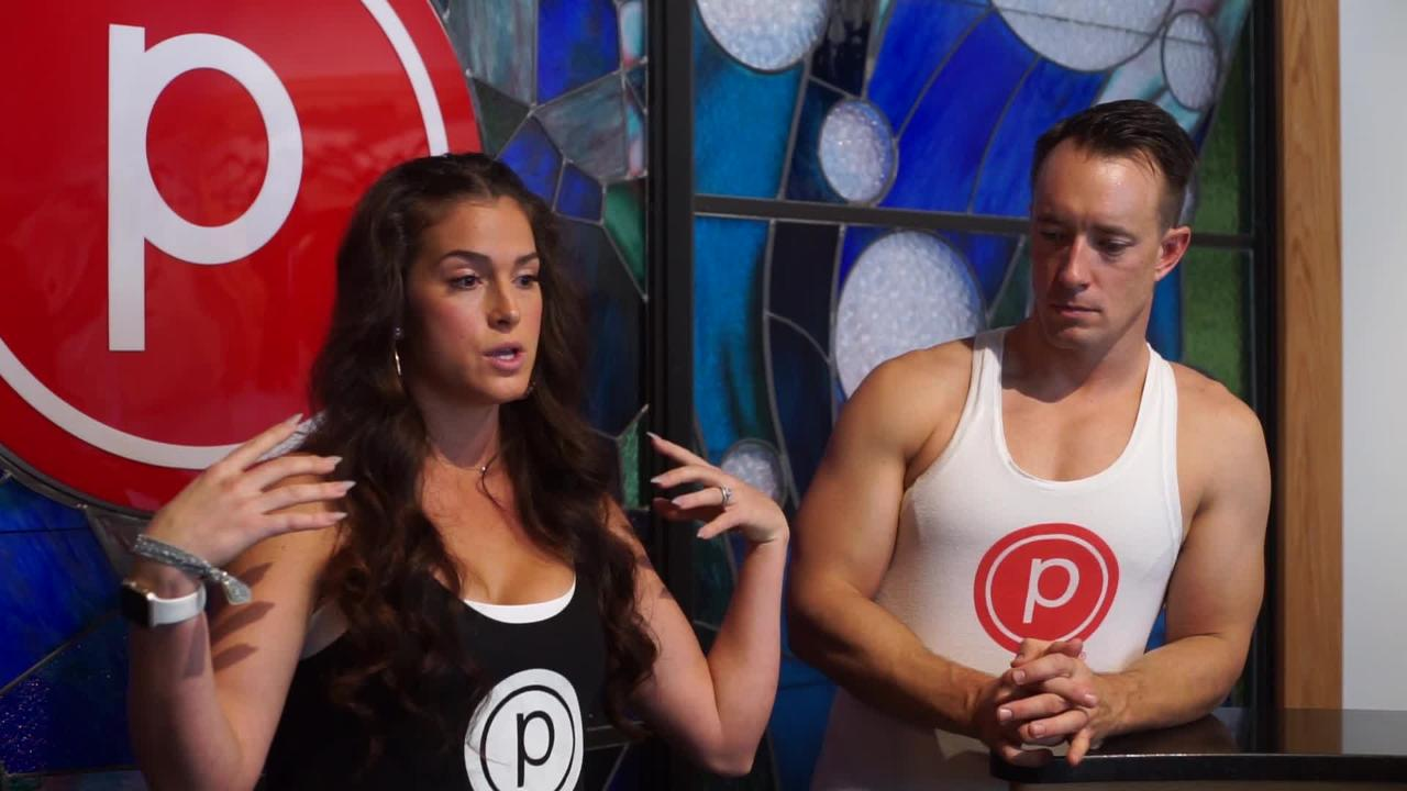 Kevin and Catalina Lehman, the owners of Fosko and Purre Barre, run a formidable combination of coffee and fitness next door to each other on Palafox.