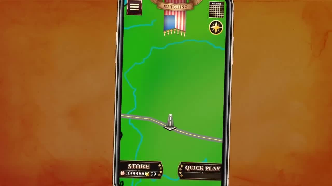 The game includes the local landmarks and culture of various small towns and cities, including Tom's River, N.J. and Towson, Md.