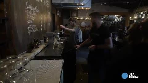 USA TODAY's Dad Rock gets the scoop on America's growing taste for sour beer from Walt Dickinson, co-owner of Wicked Weed Brewing.