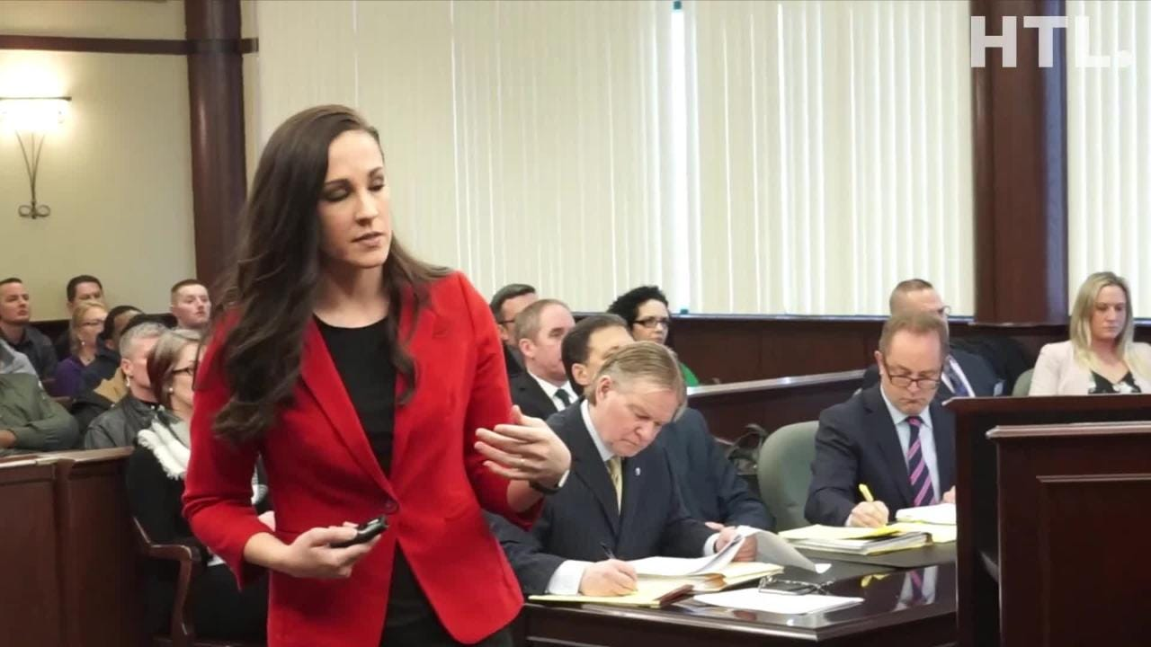 Wayne Co. Asst. Prosecuting Attorney Barbara Lanning begins a preliminary exam case against a former police officer and two paramedics in 2017 case.