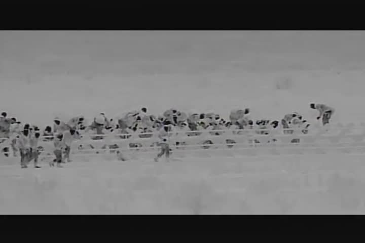 The Border Patrol released video of 247 undocumented immigrants crossing into the U.S. on Wednesday, Jan. 16, 2019, at Antelope Wells, N.M.