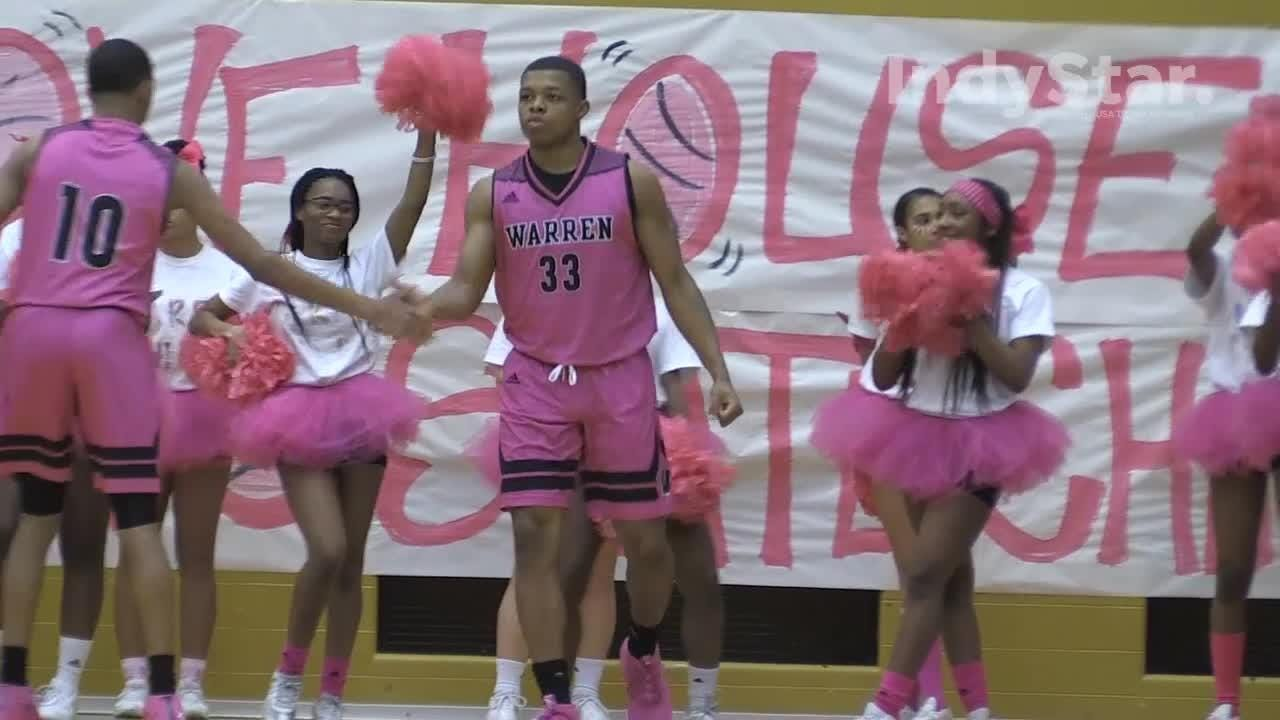Lawrence Central ends Warren Central's win streak by defeating the Warriors 54-44.