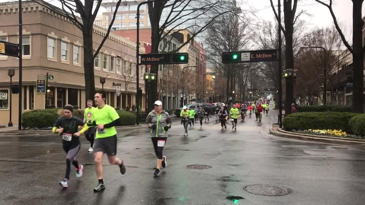 The 2019 Greenville News Run Downtown 5k was held on Saturday, January 19, 2019.